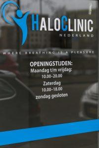 HaloClinic openingstijden
