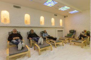 Lekker relaxen in onze zoutkamer