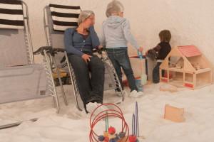 kinderzoutkamer, Zoutkamer voor kinderen,
