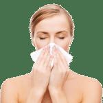 Voorhoofdsholteontsteking, Astma