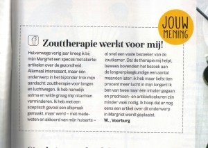 Haloclinic in de Margriet