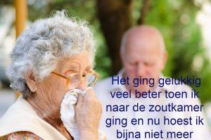 COPD - Vastzittend slijm - Benauwd - Ervaring
