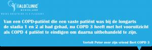 COPD stadia 1, COPD stadia 2, COPD stadia 3, COPD stadia 4.