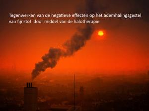 fijnstof, halotherapie, ademhalingsstelsel,