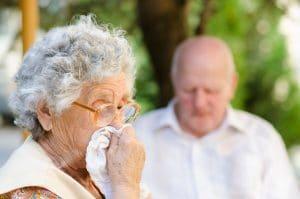 COPD stadia III, slijm ophoesten, veel hoesten
